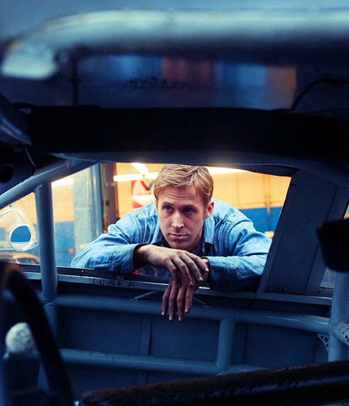 Ryan Gosling from the movie Drive